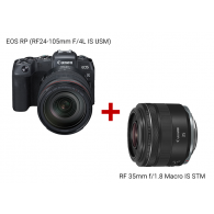 EOS RP (RF24-105mm f/4L IS USM) + RF35mm f/1.8 MACRO IS STM