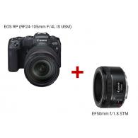 EOS RP (RF24-105mm f/4L IS USM) + EF50mm f/1.8 STM