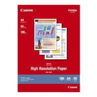 Canon HR-101N High Ressolution Paper 50 Sheets 106g/m2-A4