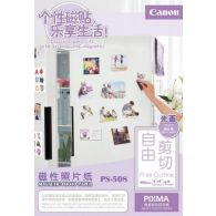 [By-Order] Canon PS-508 Photo Sticker 5 Sheets 690g/m2-4*6