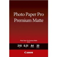 [By Order] Canon PM-101 Photo Paper Pro Premium Matte 20 Sheets 210g/m2-A4
