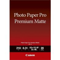 Canon PM-101 Photo Paper Pro Premium Matte 20 Sheets 210g/m2-A3+