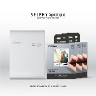 [Pre-Order] SELPHY SQUARE QX10 (White) Promotion Pack