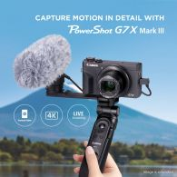PowerShot G7X Mark III for YouTubers & Vloggers (Light set)