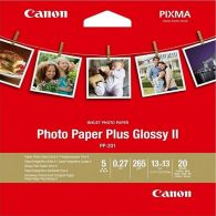 "[Pre-Order] Canon PP-201 Square 5"" Photo Paper Plus Glossy 20 Sheets 265g/m2"