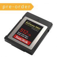 [Pre-Order] SanDisk CFExpress Card 512GB (SDCFE4NN-512GR)