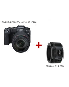 EOS RP (RF24-105mm f/4L IS USM) + EF50mm f/1.8 STM