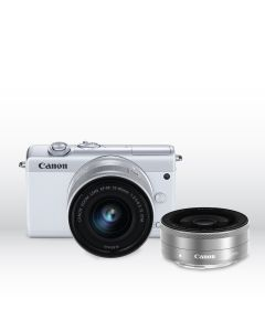 EOS M200 (EF-M15-45mm f/3.5-6.3 IS STM) & EF-M22mm f/2.0 STM (WH)