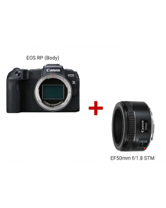 EOS RP (Body) + EF50mm f/1.8 STM
