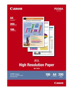 Canon HR-101N High Ressolution Paper 200 Sheets 106g/m2-A4