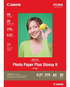 Canon PP-208 Photo Paper Plus Glossy 20 Sheets 270g/m2-A4