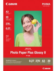 Canon PP-208 Photo Paper Plus Glossy 20 Sheets 270g/m2-A3