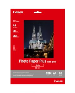Canon SG-201 Photo Paper Plus Semi-Gloss 20 Sheets 260g/m2-A4
