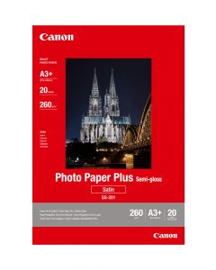 Canon SG-201 Photo Paper Plus Semi-Gloss 20 Sheets 260g/m2-A3+