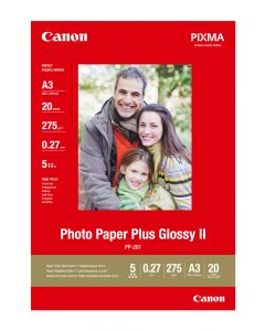 Canon PP-201 Photo Paper Plus Glossy A3 20 Sheets 275g/m2-