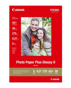 Canon PP-201 A3+ Photo Paper Plus Glossy 20 Sheets 275g /m2