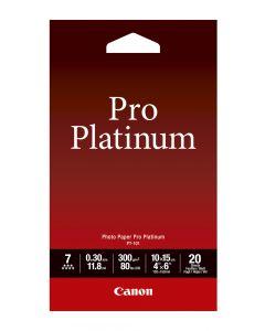 [By-Order] Canon PT-101 Photo Paper Pro Platinum 20 Sheets 300g/m2-4*6