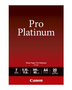 Canon PT-101 Photo Paper Pro Platinum 20 Sheets 300g/m2-A4