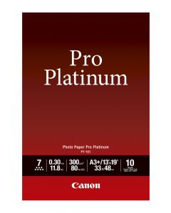Canon PT-101 Photo Paper Pro Platinum 10 Sheets 300g/m2-A3+