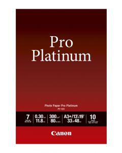 Canon PT-101 Photo Paper Pro Platinum 10 Sheets 300g/m2-A3+
