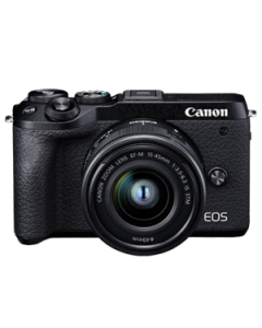 EOS M6 Mark II (EF-M15-45mm f/3.5-6.3 IS STM) Black