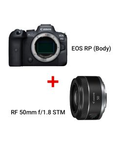 EOS R6 (Body) + RF 50mm f/1.8 STM