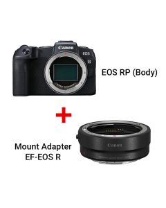 EOS RP (Body) + Mount Adapter EF-EOS R