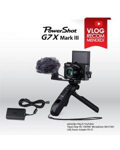 PowerShot G7X Mark III for YouTubers & Vloggers Package (Combo Set)