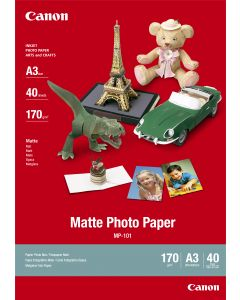 [By Order] Canon MP-101 Matte Photo Paper 40 Sheets 170g/m2-A3