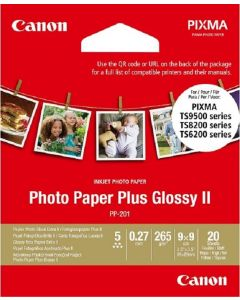 "[By-Order] Canon PP-201 Square 3.5"" X 3.5"" (20 Sheets)"