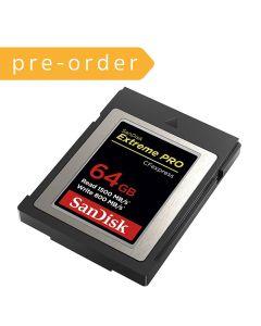[Pre-Order] SanDisk CFExpress Card 64GB (SDCFE4NN-064GR)