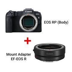 EOS RP (Body) + Mount Adapter EF-EOS R